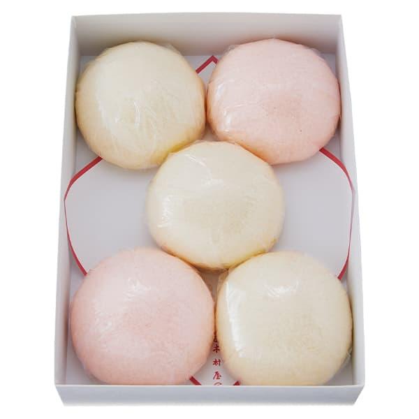 紅白饅頭【9.0cm】